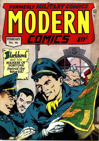 Cover for Modern Comics (Quality Comics, 1945 series) #46