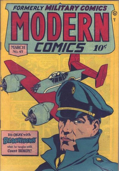 Cover for Modern Comics (Quality Comics, 1945 series) #47