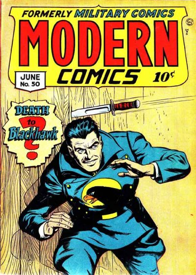 Cover for Modern Comics (Quality Comics, 1945 series) #50