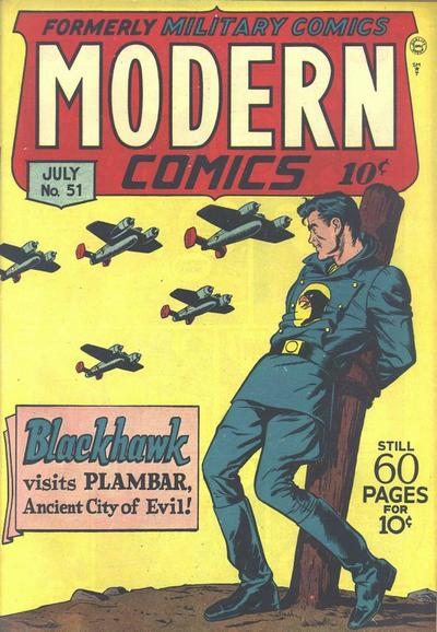 Cover for Modern Comics (Quality Comics, 1945 series) #51
