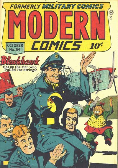 Cover for Modern Comics (Quality Comics, 1945 series) #54