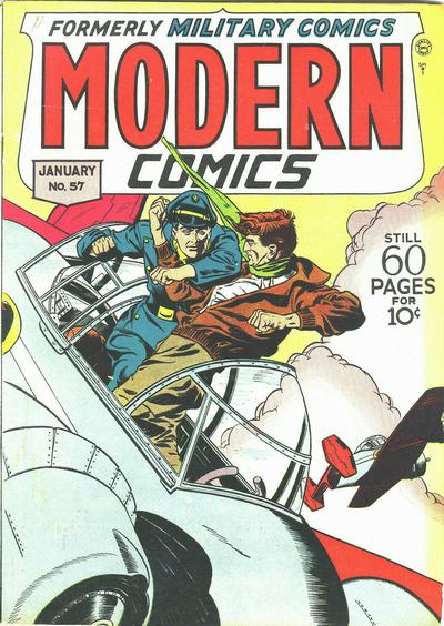 Cover for Modern Comics (Quality Comics, 1945 series) #57