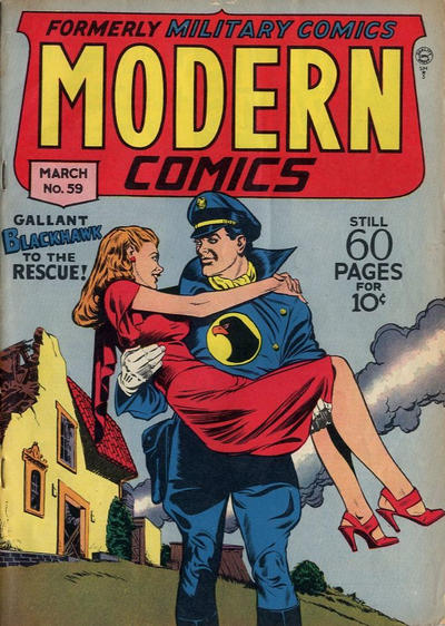Cover for Modern Comics (Quality Comics, 1945 series) #59