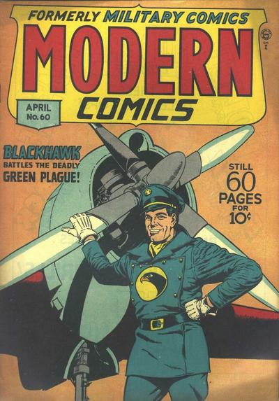 Cover for Modern Comics (Quality Comics, 1945 series) #60