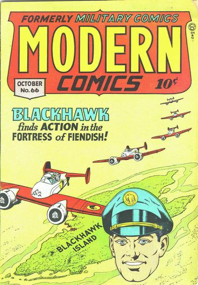 Cover for Modern Comics (Quality Comics, 1945 series) #66