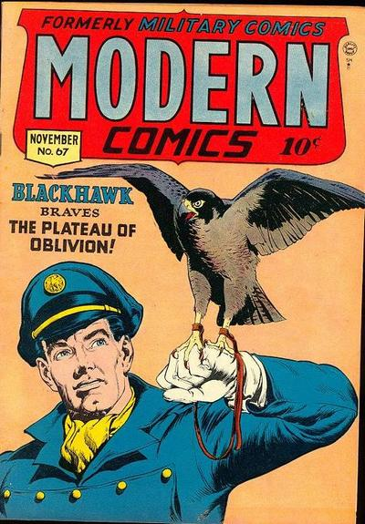 Cover for Modern Comics (Quality Comics, 1945 series) #67