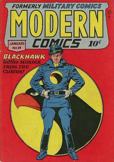 Cover for Modern Comics (Quality Comics, 1945 series) #69