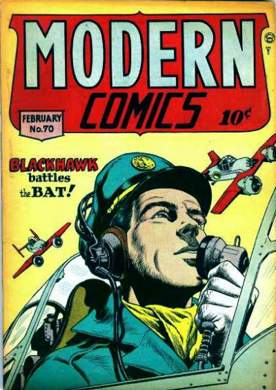 Cover for Modern Comics (Quality Comics, 1945 series) #70