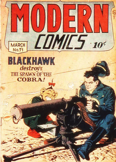 Cover for Modern Comics (Quality Comics, 1945 series) #71
