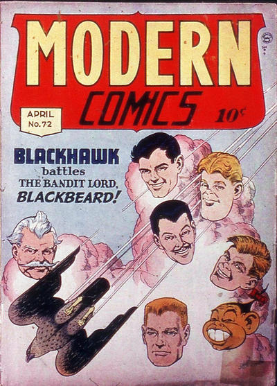 Cover for Modern Comics (Quality Comics, 1945 series) #72