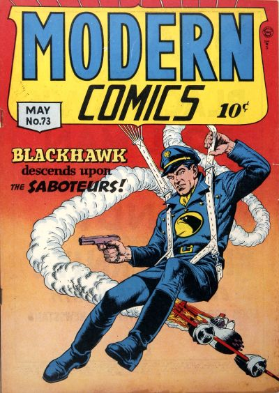 Cover for Modern Comics (Quality Comics, 1945 series) #73