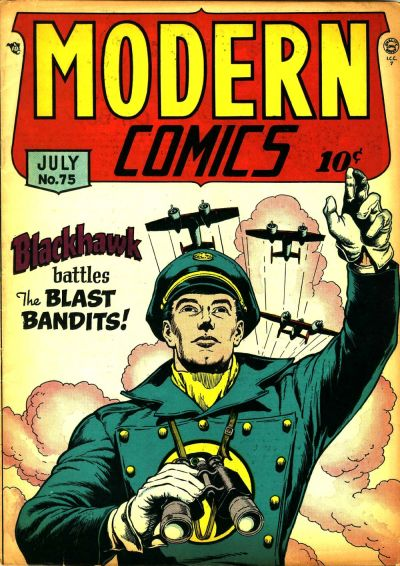 Cover for Modern Comics (Quality Comics, 1945 series) #75