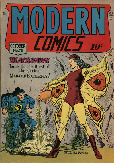 Cover for Modern Comics (Quality Comics, 1945 series) #78