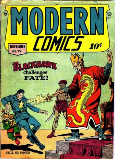 Cover for Modern Comics (Quality Comics, 1945 series) #79