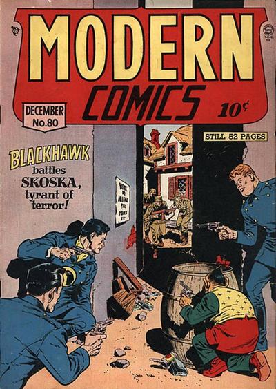 Cover for Modern Comics (Quality Comics, 1945 series) #80