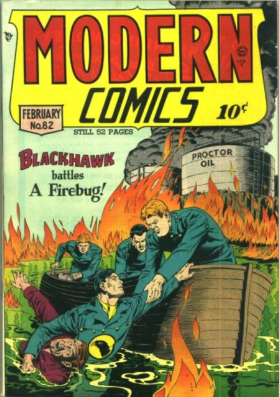 Cover for Modern Comics (Quality Comics, 1945 series) #82