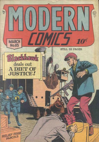 Cover for Modern Comics (Quality Comics, 1945 series) #83