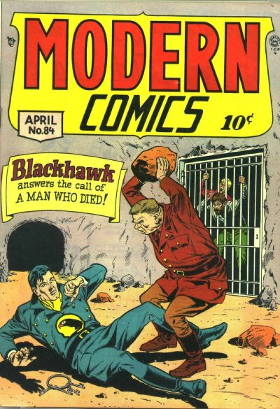 Cover for Modern Comics (Quality Comics, 1945 series) #84