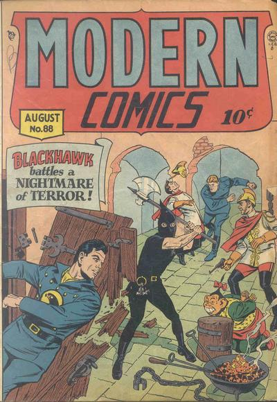 Cover for Modern Comics (Quality Comics, 1945 series) #88