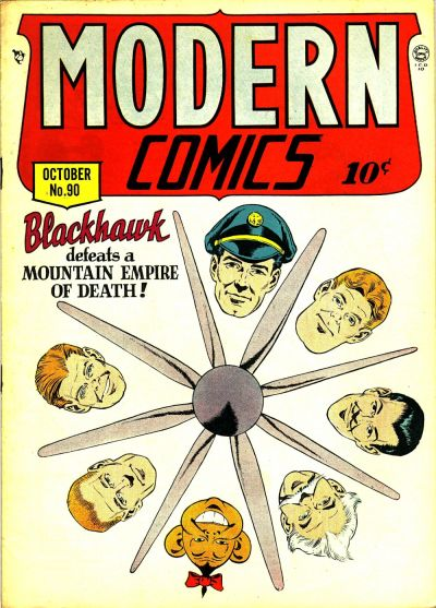 Cover for Modern Comics (Quality Comics, 1945 series) #90