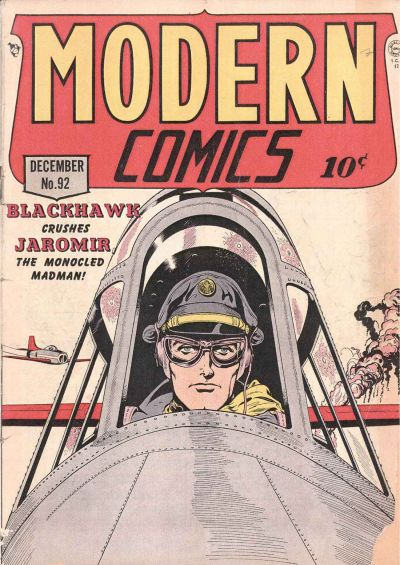 Cover for Modern Comics (Quality Comics, 1945 series) #92