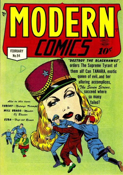 Cover for Modern Comics (Quality Comics, 1945 series) #94