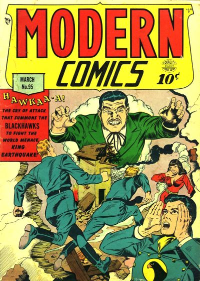 Cover for Modern Comics (Quality Comics, 1945 series) #95