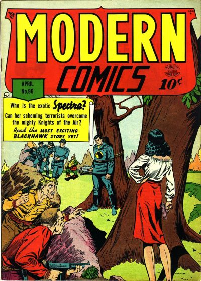Cover for Modern Comics (Quality Comics, 1945 series) #96