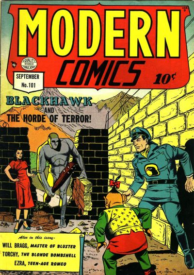 Cover for Modern Comics (Quality Comics, 1945 series) #101