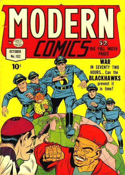Cover for Modern Comics (Quality Comics, 1945 series) #102