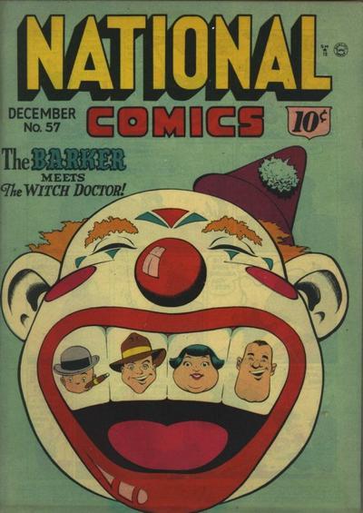 Cover for National Comics (Quality Comics, 1940 series) #57