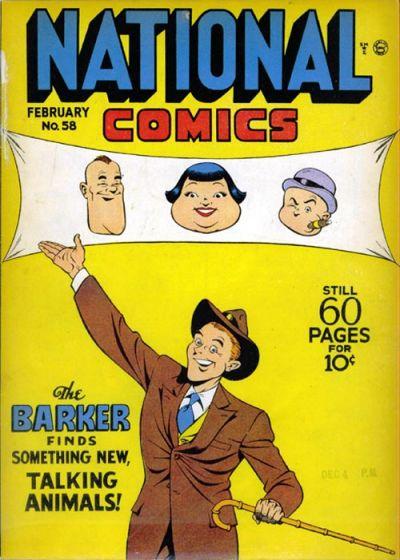 Cover for National Comics (Quality Comics, 1940 series) #58
