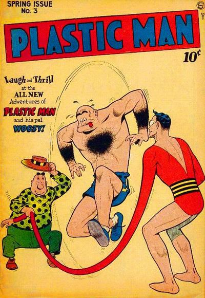Cover for Plastic Man (Quality Comics, 1943 series) #3