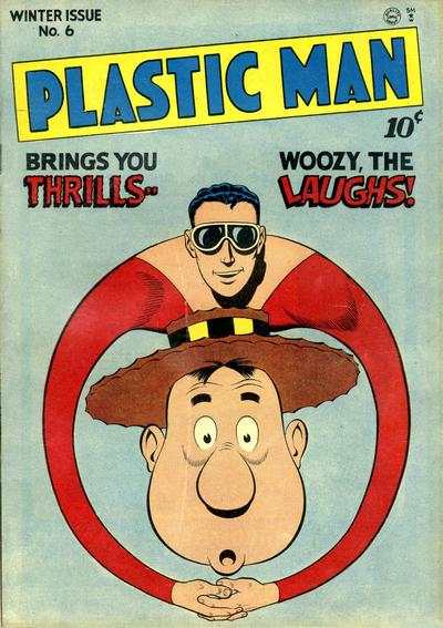 Cover for Plastic Man (Quality Comics, 1943 series) #6