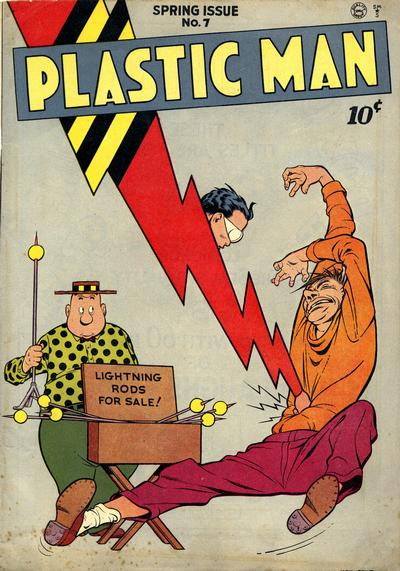 Cover for Plastic Man (Quality Comics, 1943 series) #7