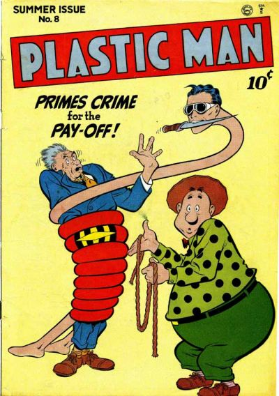 Cover for Plastic Man (Quality Comics, 1943 series) #8