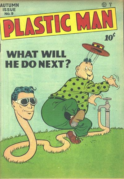 Cover for Plastic Man (Quality Comics, 1943 series) #9