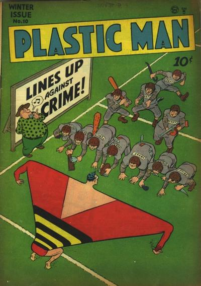 Cover for Plastic Man (Quality Comics, 1943 series) #10