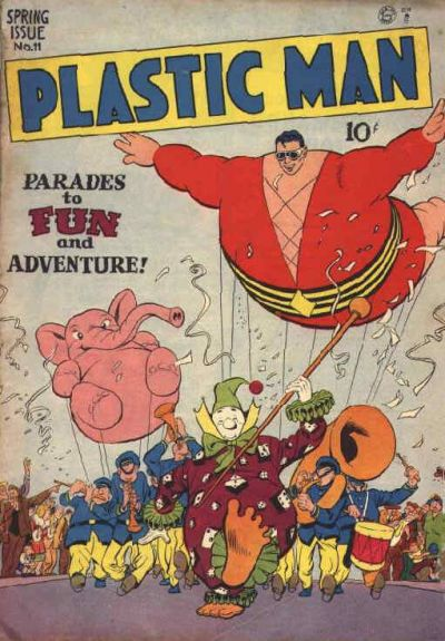 Cover for Plastic Man (Quality Comics, 1943 series) #11
