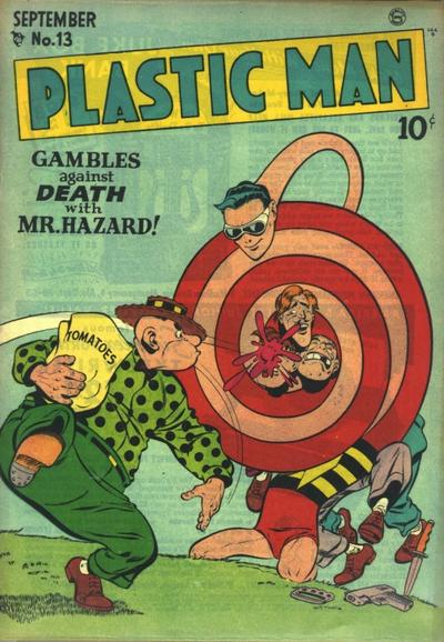 Cover for Plastic Man (Quality Comics, 1943 series) #13