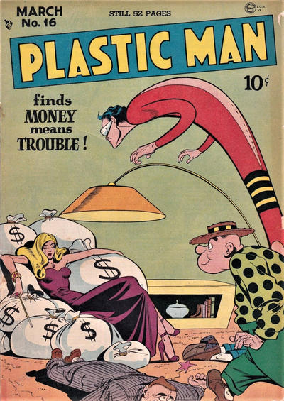 Cover for Plastic Man (Quality Comics, 1943 series) #16