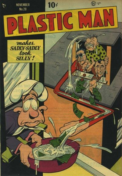 Cover for Plastic Man (Quality Comics, 1943 series) #20