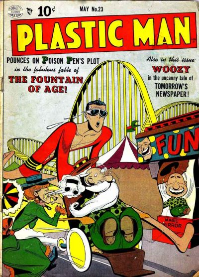 Cover for Plastic Man (Quality Comics, 1943 series) #23