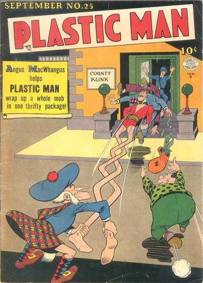 Cover for Plastic Man (Quality Comics, 1943 series) #25