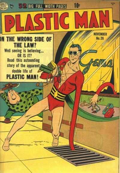 Cover for Plastic Man (Quality Comics, 1943 series) #26