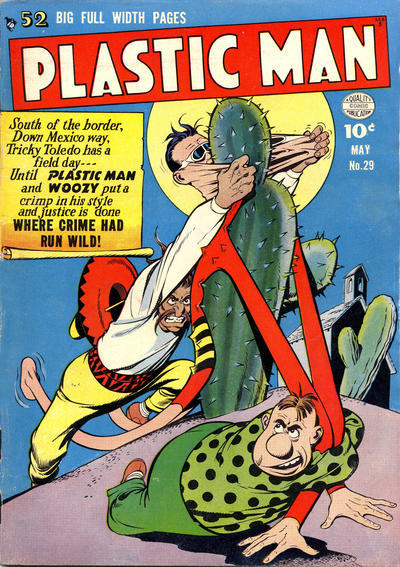 Cover for Plastic Man (Quality Comics, 1943 series) #29