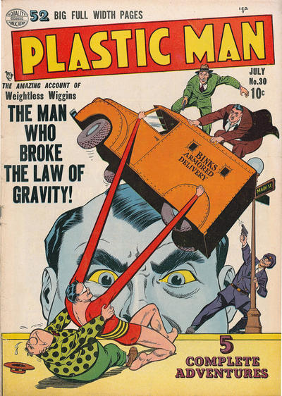 Cover for Plastic Man (Quality Comics, 1943 series) #30