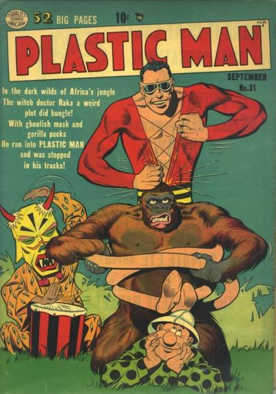 Cover for Plastic Man (Quality Comics, 1943 series) #31