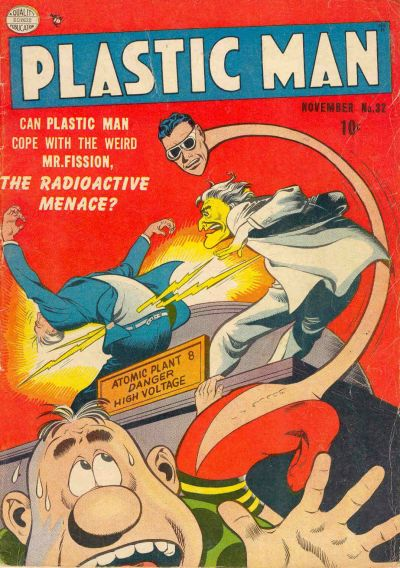 Cover for Plastic Man (Quality Comics, 1943 series) #32