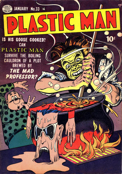 Cover for Plastic Man (Quality Comics, 1943 series) #33